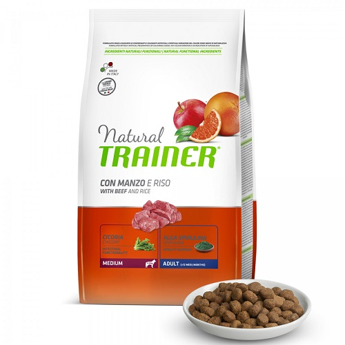trainer-natural-adult-medium-con-manzo-e-riso12kg